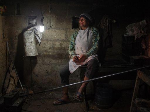 A baker in Pokhara.