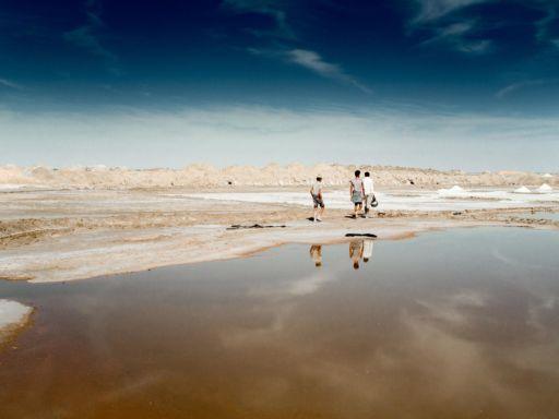 Salt harvesters in Bap, Rajasthan.