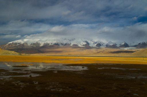 Mountains in Xinjiang, China