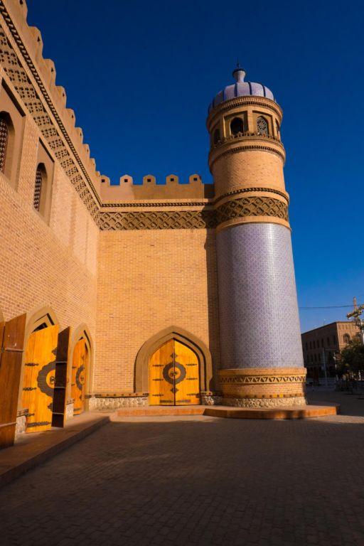 A palace column in Yarkand, Xinjiang