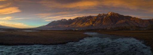 Wetlands in Tashkurgan, Xinjiang, China
